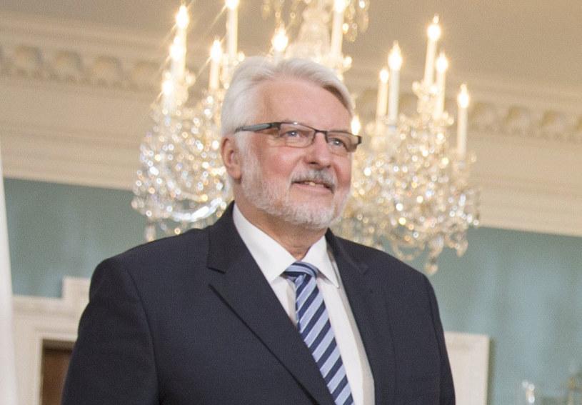 Minister spraw zagranicznych Witold Waszczykowski /Tasos Katopodis  /PAP
