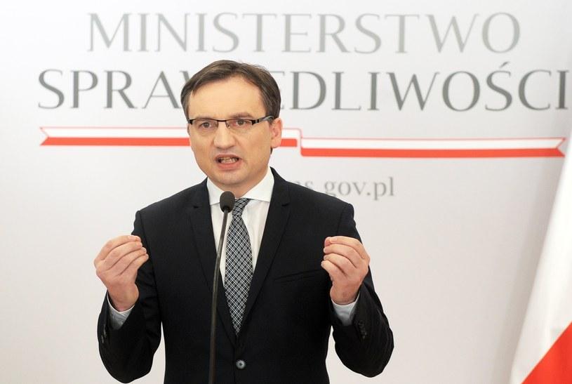 Minister sprawiedliwości i prokurator generalny Zbigniew Ziobro /Jan Bielecki /East News