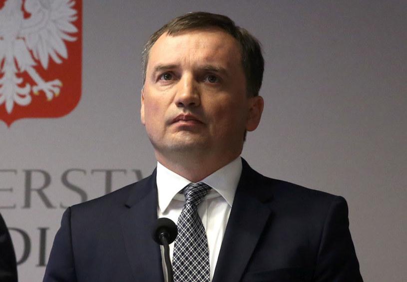 Minister sprawiedliwości i prokurator generalny Zbigniew Ziobro /Tomasz Gzell /PAP