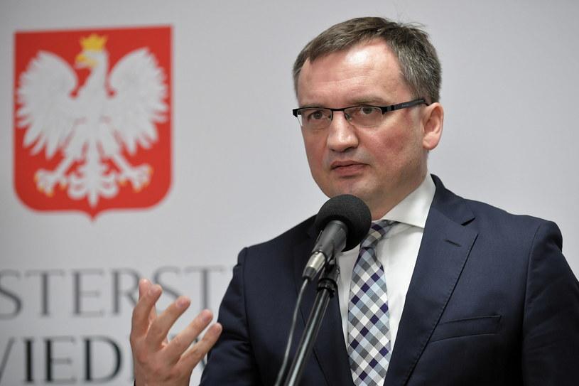 Minister sprawiedliwości i prokurator generalny Zbigniew Ziobro /PAP