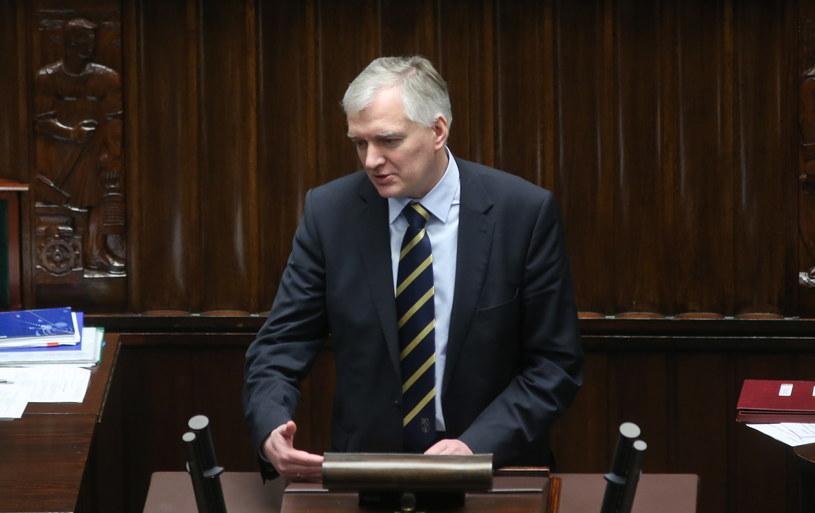 Minister sprawiedliwości Jarosław Gowin /Rafał Guz /PAP