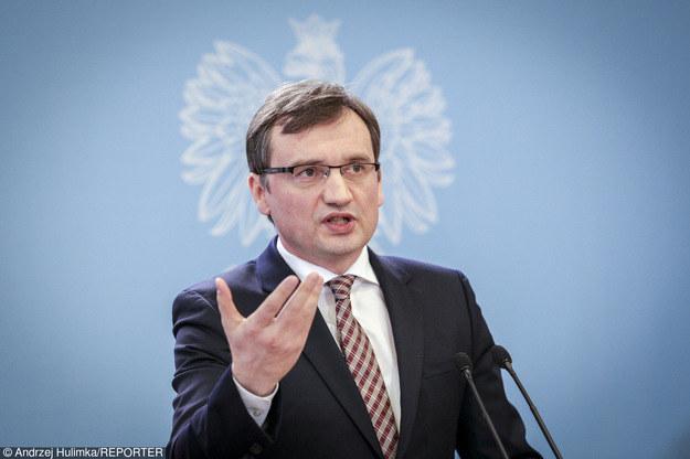 Minister sprawiedliwości Zbigniew Ziobro /East News