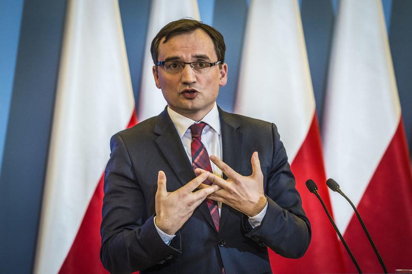 Minister sprawiedliwości Zbigniew Ziobro /Jacek Domiński /Reporter