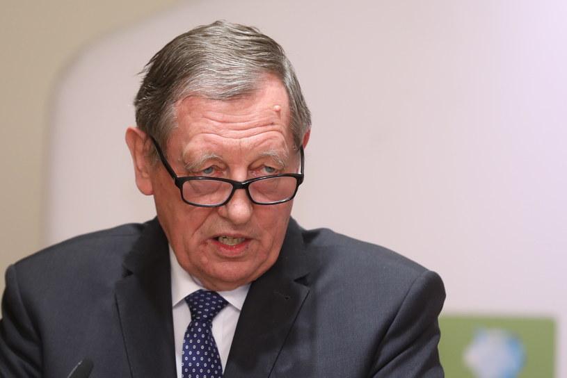 Minister środowiska Jan Szyszko /Rafał Guz /PAP