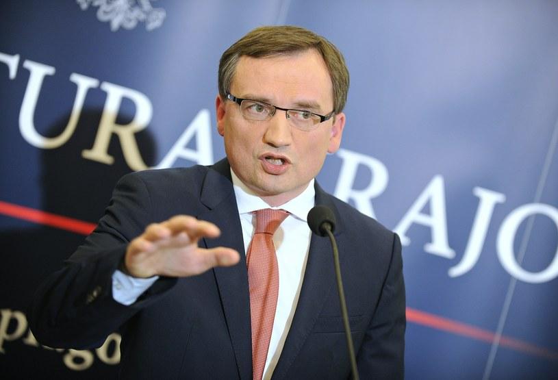 Minister Zbigniew Ziobro /Bartosz Krupa /East News