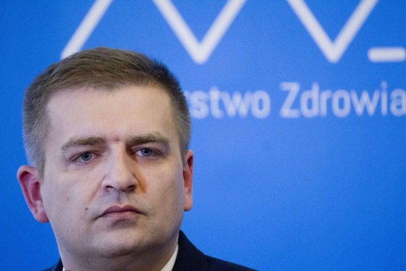 Minister zdrowia Bartosz Arłukowicz. /Krystian Dobuszyński /Reporter