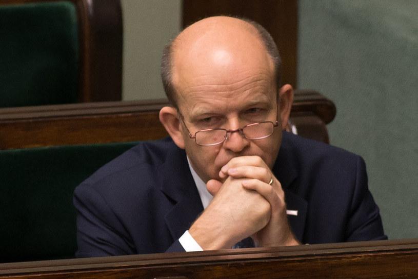 Minister zdrowia Konstanty Radziwiłł podczas posiedzenia Sejmu /Krystian Maj /FORUM