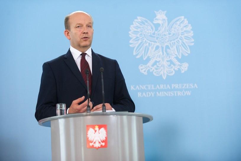 Minister zdrowia Konstanty Radziwiłł /Bartosz Krupa /East News