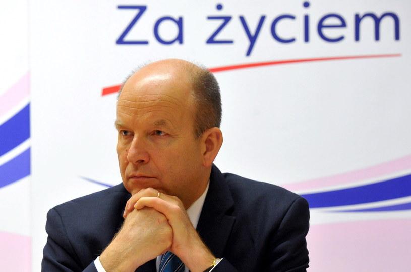 Minister zdrowia Konstanty Radziwiłł /Marcin Bielecki /PAP