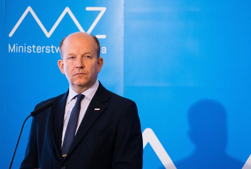 Minister zdrowia Konstanty Radziwiłł /Krystian Dobuszyński /Reporter