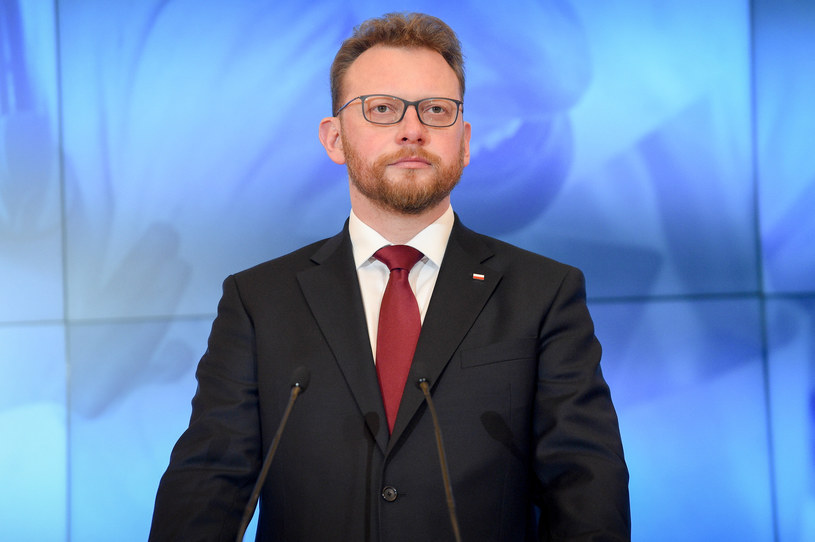 Minister zdrowia Łukasz Szumowski /Jacek Domiński /Reporter