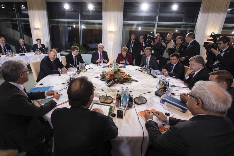 Ministrowie spraw zagranicznych tzw. formatu normandzkiego spotkają się we wtorek 29 listopada w Mińsku /Palinchak Mikhail /East News