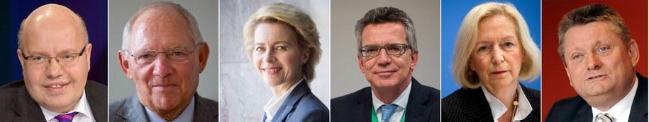 Ministrowie w niemieckim rządzie /MICHAEL KAPPELER /PAP/EPA