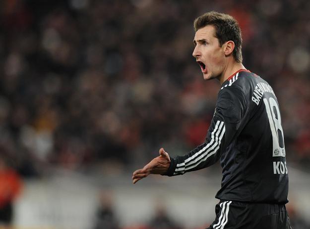 Miroslav Klose głośno mówi o chęci odejścia z Bayernu. Być może niebawem trafi do Lazio Rzym /AFP