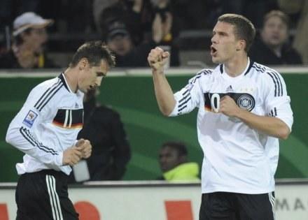 Miroslav Klose i Lukas Podolski /AFP