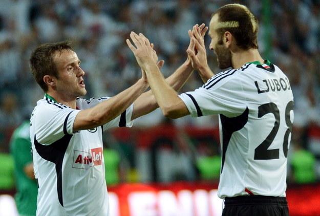 Miroslav Radović i Danijel Ljuboja /PAP
