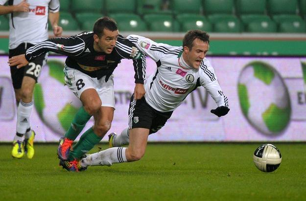 Miroslav Radović, podobnie jak cała Legia, jest w wysokiej formie fot: Bartłomiej Zborowski /PAP