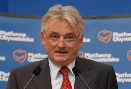 Mirosław Drzewiecki stawia sprawę jasno /Agencja SE/East News