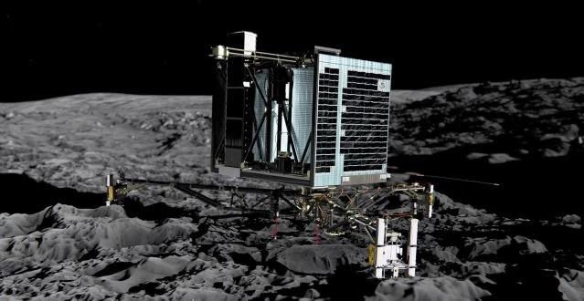 Misja europejskiej sondy Rosetta zakończyła się powodzeniem, zdjęcie ilustracyjne /AFP