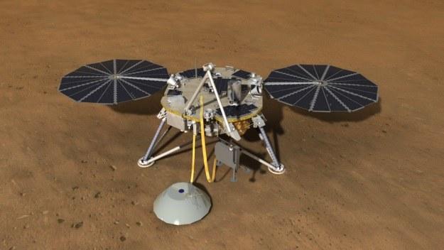 Misja InSight rozpocznie się już w 2016 r. /NASA