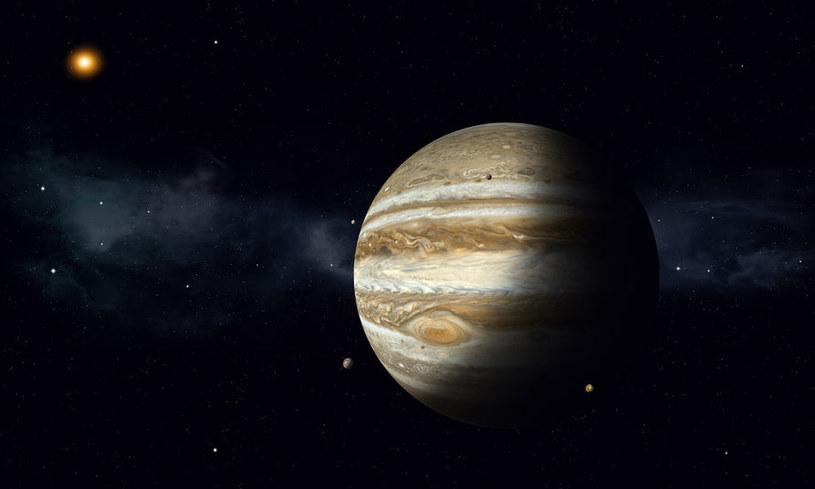 Misja JUICE ma na celu poszerzenie wiedzy o Jowiszu i jego lodowych księżycach /123RF/PICSEL