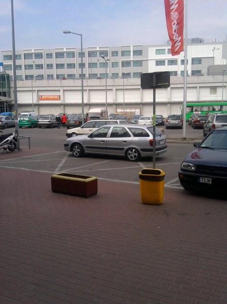 Mistrz parkowania i citroen