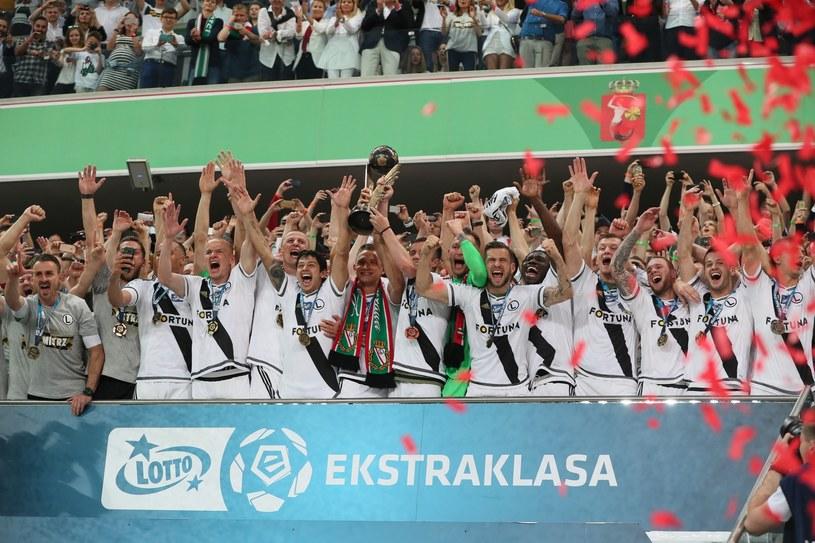 Mistrzostwo Polski dało Legii prawo do gry w eliminacjach do Ligi Mistrzów /Andrzej Iwańczuk /East News