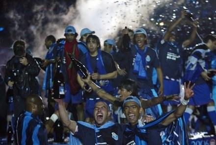 Mistrzowska feta FC Porto /AFP
