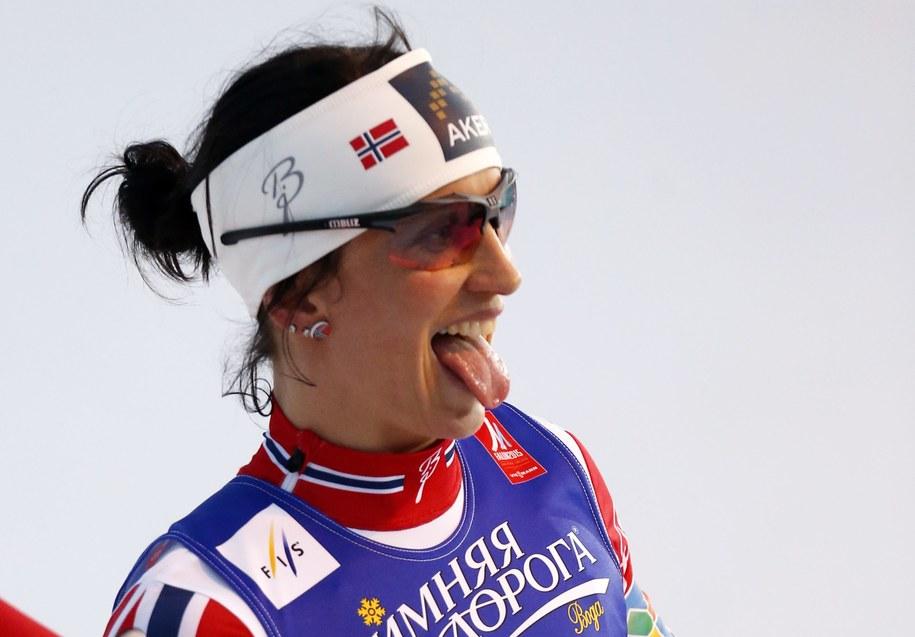 Mistrzyni olimpijska i świata w biegach narciarskich Marit Bjoergen /Grzegorz Momot /PAP