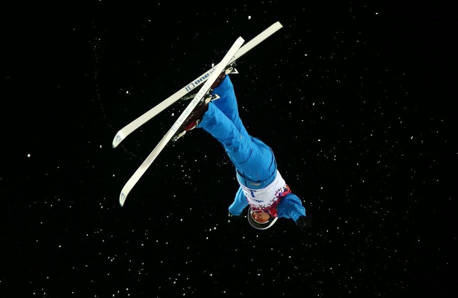 Mistrzyni olimpijska w skokach akrobatycznych Alla Tsuper /JENS BUETTNER    /PAP/EPA