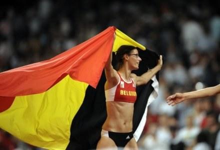 Mistrzyni z Belgii zakończy karierę sportową z powodu ciąży /AFP