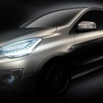 Mitsubishi Concept G4 Compact Sedan. Rywal Rapida?