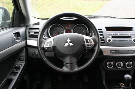 Mitsubishi lancer sportback /INTERIA.PL