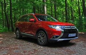 Mitsubishi Outlander 2.0 4WD CVT – uniwersalnie rodzinny