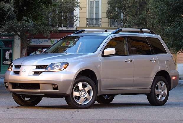 Mitsubishi Outlander (kliknij) /INTERIA.PL
