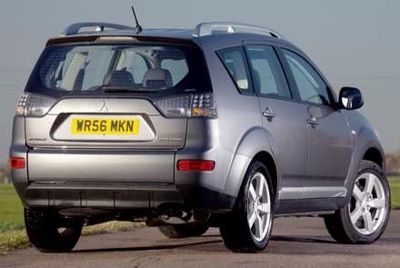 Mitsubishi outlander / kliknij /INTERIA.PL