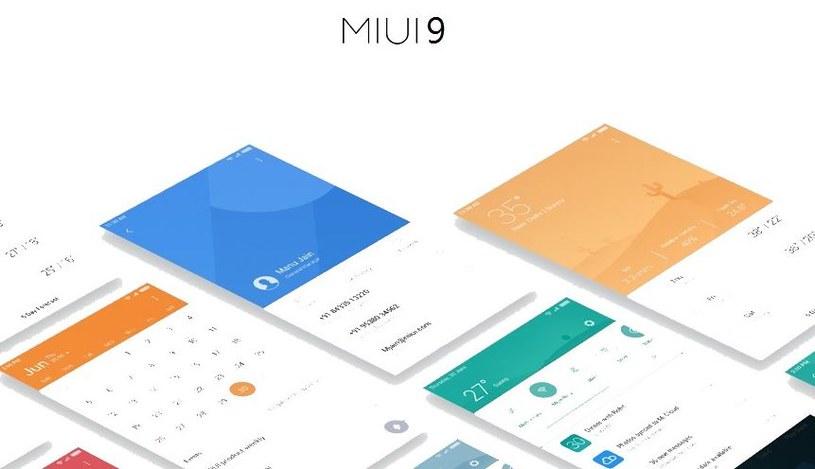MIUI 9 trafi w pierwszej kolejności do najnowszych modeli /materiały prasowe