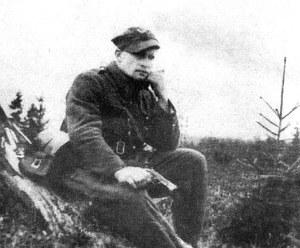"""Mjr Józef Kuraś """"Ogień"""", dowódca Zgrupowania Partyzanckiego """"Błyskawica"""" /IPN"""