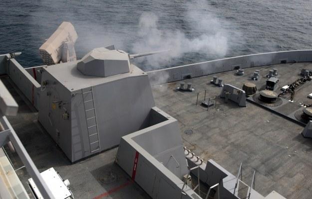 MK46 Mod 1.  Fot. U.S. Navy photo by Mass Communication Specialist 2nd Class Dominique Pineiro/Released /materiały prasowe