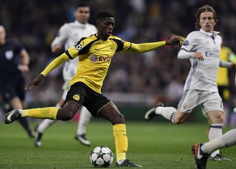 Młoda gwiazda Borussii Dortmund Ousmane Dembele /AFP