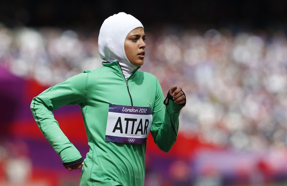 Młode kobiety będą mogły naśladować uczestniczkę IO w Londynię, Saraę Attar /DIEGO AZUBEL /PAP/EPA