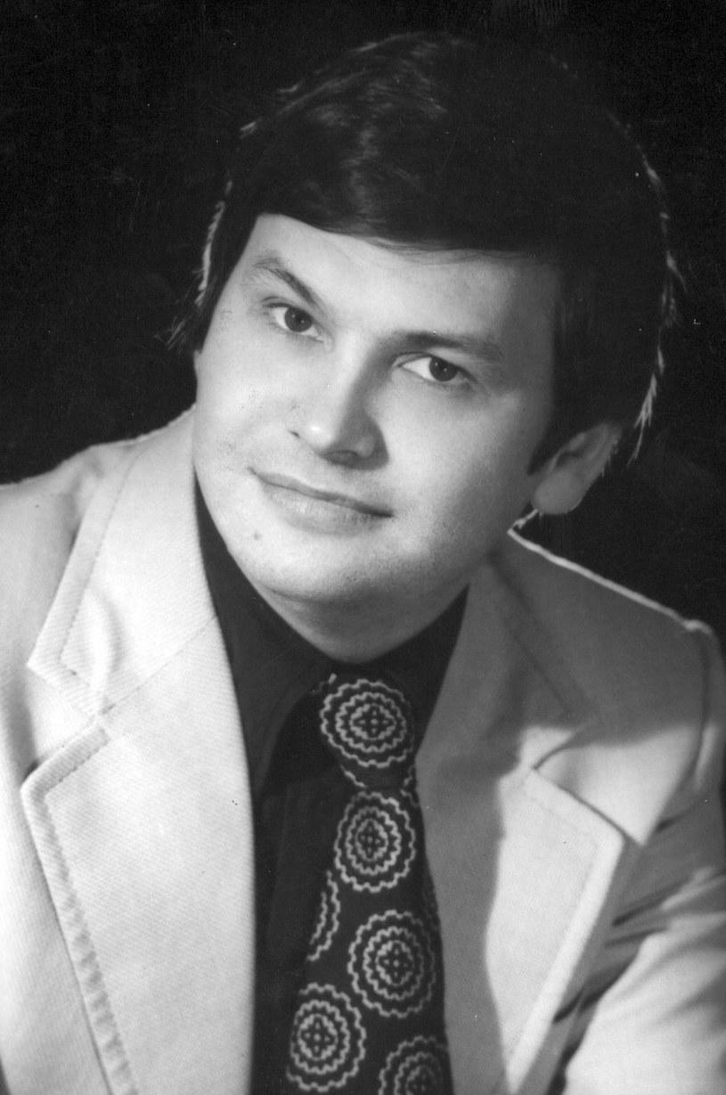 Młody Bogusław Kaczyński /Janusz Świder /MWMedia