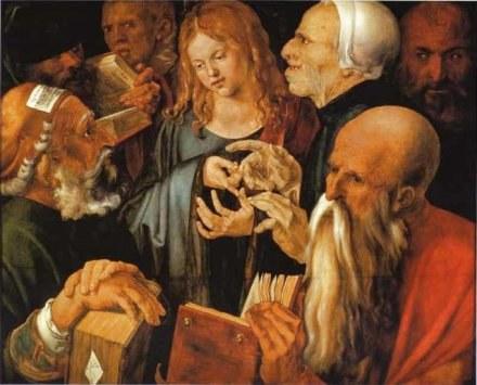 Młody Jezus Duerera - blondyn /Archiwum