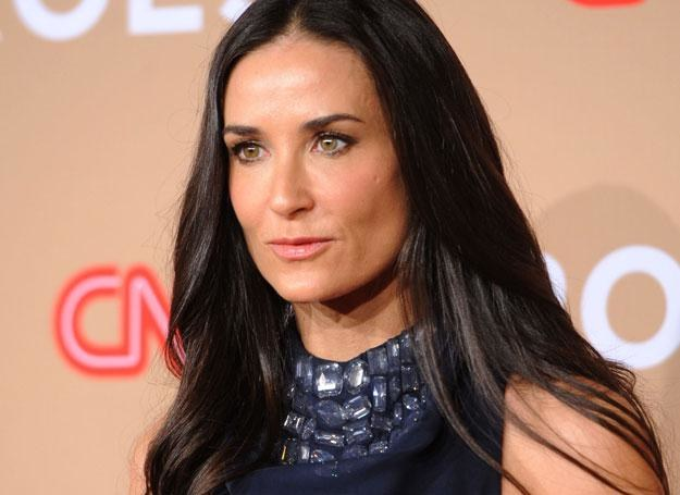 Młody partner postarza, według teorii psychologów, Demi Moore /Getty Images/Flash Press Media