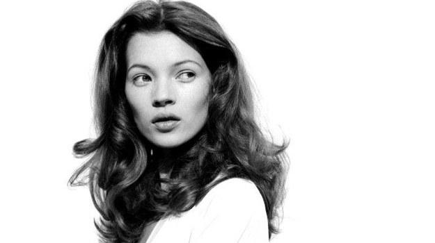 Młodziutka Kate Moss /fot  /materiały prasowe
