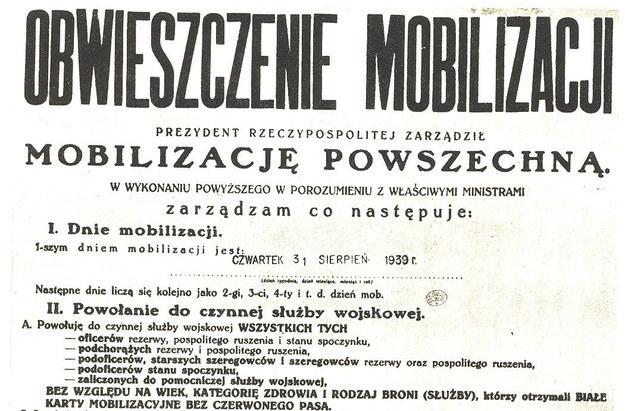 Mobilizację powszechną ogłoszono 31 sierpnia fot. Wikipedia /INTERIA.PL