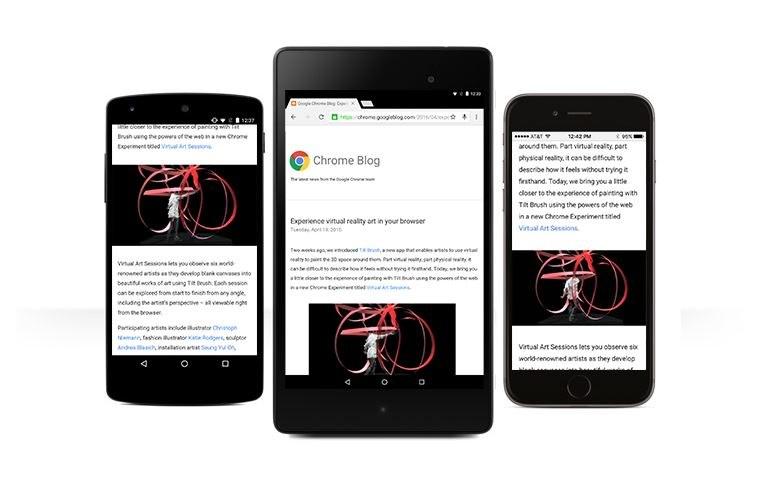 Mobilny Google Chrome będzie jeszcze łatwiejszy w użytkowaniu /materiały prasowe