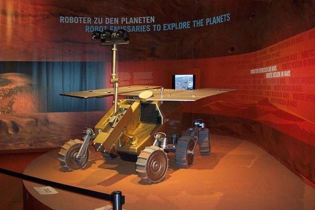 Model łazika ExoMars, w którego misji będzie uczestniczyć też Rosja /materiały prasowe