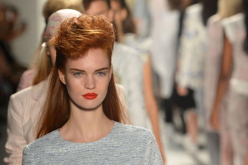 Modelka na pokazie Ruffian /Getty Images