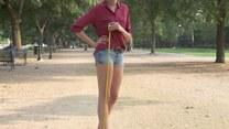 Modelka z najdłuższymi nogami w Ameryce